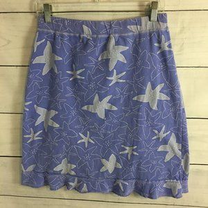 Fresh Produce sz S Starfish Print A-Line Skirt